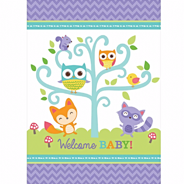 Woodland Welcome Table Cover